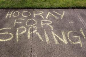 Spring Chalk