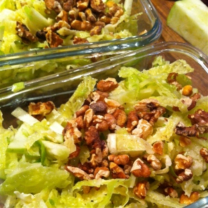Cabbage, Sprout & Walnut Slaw